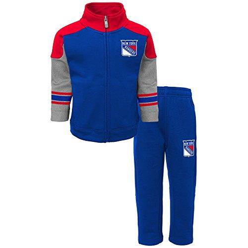 3fc14e0c75ea Outerstuff NHL New York Rangers Children Boys Shutdown Jacket   Pant Set