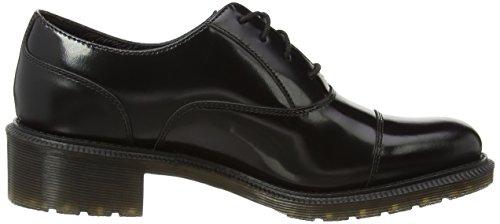 Dr. Martens HENRIETTA Pol. Smooth - zapato oxford de cuero mujer negro - negro