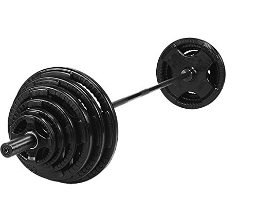 Body Solid Olympic Rubber 4 Grip Kit 250 kg