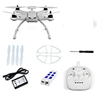 Qwinout CG035 6-axis Gyro Headless Mode Brushless RC Quadcopter RTF 2.4GHz Drone (With GPS No Camera)