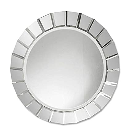 Amazon Com Extra Large Frameless Venetian Sunburst Round Wall