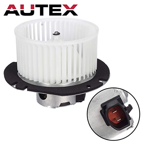 AUTEX HVAC Blower Motor Assembly 700019 1L5Z18456CA Compatible with Mercury Mountaineer,Ford Explorer 97-01 Replacement for Ford Explorer Sport Trac 01-05,Ford Ranger 00-11