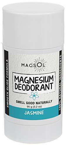 MagSol Organics Magnesium Deodorant 3.2 oz (80 g) (Jasmine 3.2 oz)