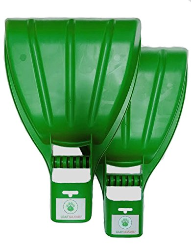 LeafTalons Leaf Scoops Hand Rake: Ergonomic Leaf Grabber Claws for Leaves, Grass Clippings, Yard Debris: 1 Pair is 2 Hand Rakes (1 PAIR)