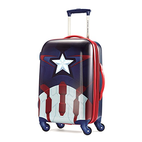 american-tourister-marvel-21-inch-spinner-carry-on-luggage-captain-america