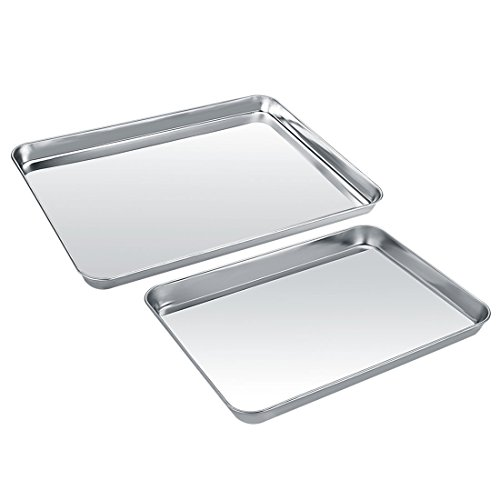 how to clean metal cookie sheet