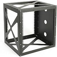 Network Rack, Open Frame Wall Mount, Side-Loading, 12U