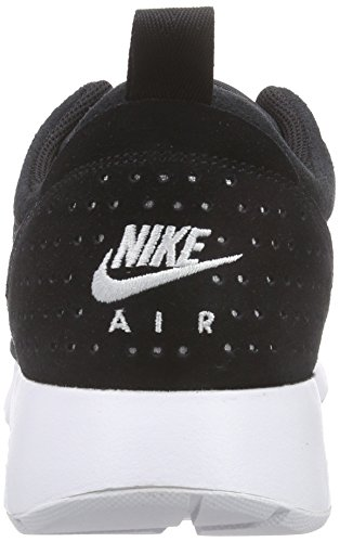 Nike Herren Air Max Tavas LTR Low-Top Schwarz (Black/White 001)