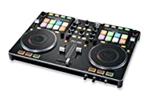 Vestax VCI-380 Professional 2-Channel Serato DJ MIDI Controller with Built-In Digital Mixer