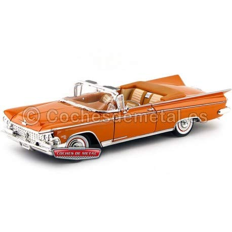 Buick Electra Engine - Maisto 1959 Buick Electra 225 Convertible Red Model Car 1/18 by Road Signature