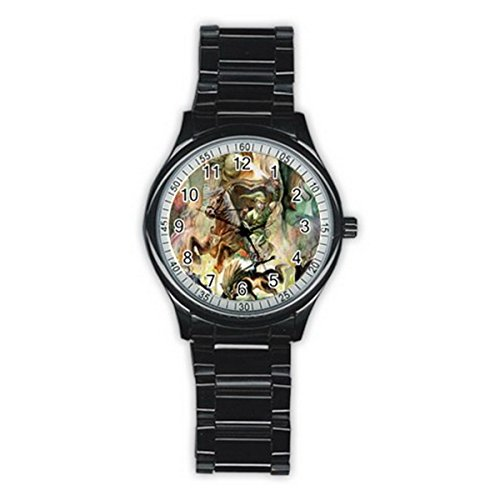 Legend Of Zelda MLG058 New Fashion Men's Wrist Watches Stainless Steel