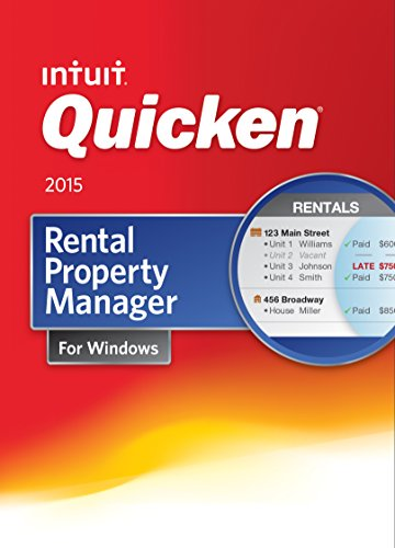 Quicken Rental Property Manager Personal Finance & Budgeting Software 2015 [Download]