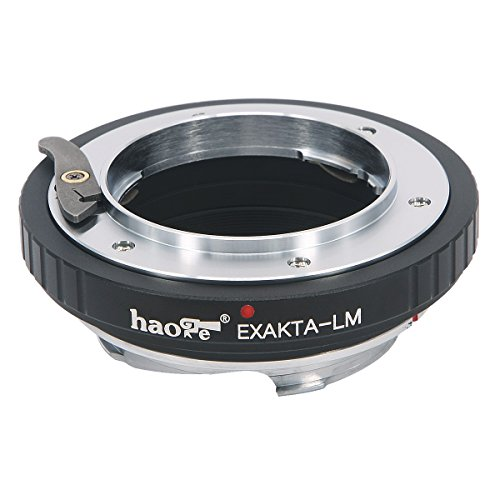 Haoge Lens Mount Adapter for Exakta EXA Mount Lens to Leica M LM Mount Camera Such as M240, M240P, M262, M3, M2, M1, M4, M5, M6, MP, M7, M8, M9, M9-P, M Monochrom, M-E, M, M-P, M10, M-A