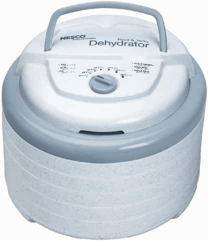 Nesco FD-75A Snackmaster Pro Food Dehydrator, White