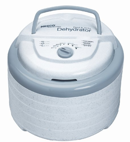 Nesco FD-75A Snackmaster Pro Food Dehydrator, White (Food Dehydrators)