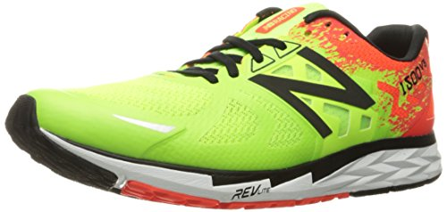 New Balance Men's M1500V3 Running Shoe, Lime Glow/Alpha Orange, 10 2E - Is Reliable Com 6pm