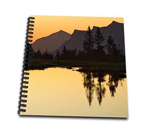 3dRose db_91563_3 Lake, Logan Pass, Glacier National Park, Montana-US27 AJE0059-Adam Jones-Mini Notepad, 4 by 4