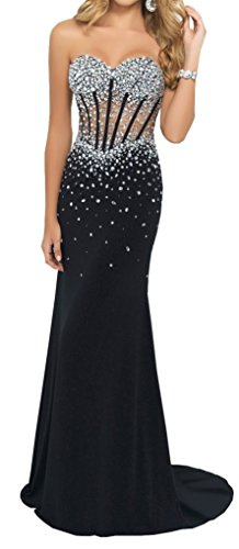 embellished bodice dress - 9