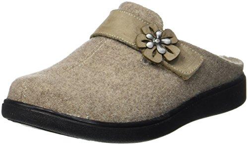Beige Gomera kombi 201 Beige 03 Damen Pantoffeln Romika USPnI