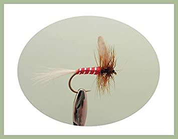 Parachute Trout Flies Fishing Flies Grey Dusters 12 Pack Mixed Size 12//14//16