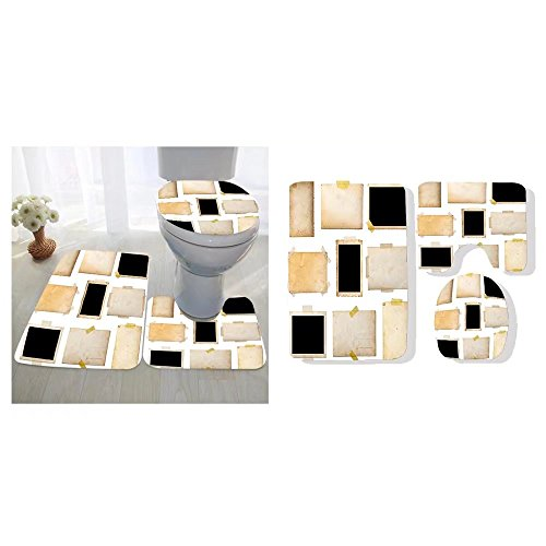 Marvelous Sylvain Parent Three Piece Toilet Seat Pad Custom Collection Caraccident5 Cool Chair Designs And Ideas Caraccident5Info