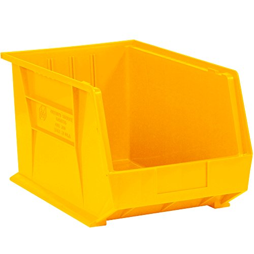 - Aviditi BINP1087Y Plastic Stack and Hang Bin Boxes, 10 3/4