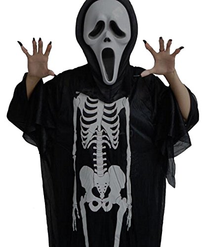 CYMF Christmas Scream Costume Gifts Ghost Skull Adult Cosplay Party School Activity