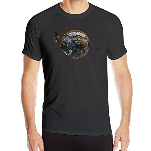 (Men World Of Warcraft Mists Of Pandaria Fitness Lightweight Running T Shirts)