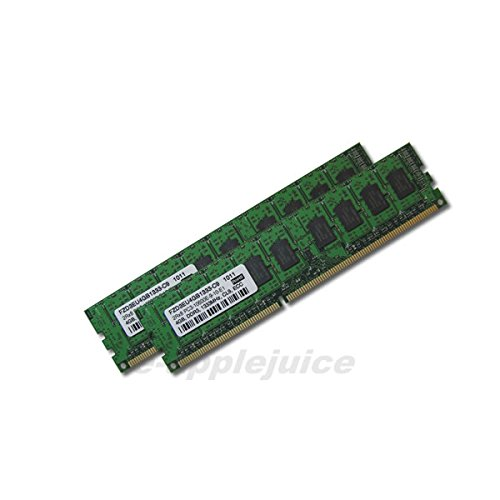 8GB Kit (2x4GB) DDR3 PC3-10600 1333MHz ECC Memory RAM for HP ProLiant Servers, DELL PowerEdge Precision Workstations by e-applejuice