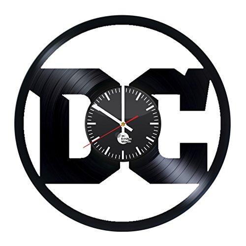DC Comics Logo Vinyl Record Wall Clock - Get unique nursery
