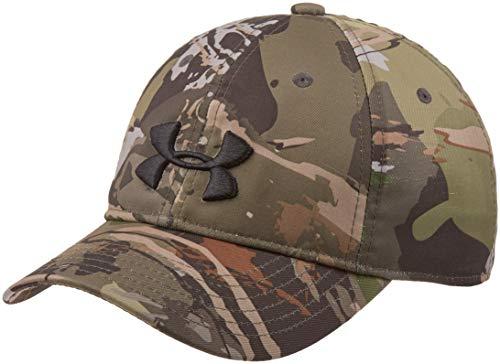 Under Armour Camo Cap 2.0, Ua Forest Camo (940)/Black, One Size