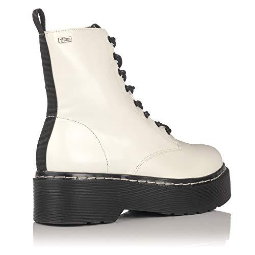 Damen amp; weiß MTNG Größe Stiefeletten Stiefel 38 Weiß EU gOwTx6q