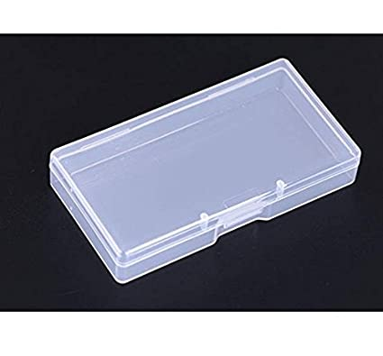 vndeful 5pcs high transparency plastic business card holder portable business card holders for men - Plastic Business Card Holders