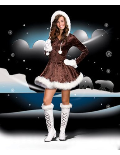 Eskimo Cutie Pie Teen/Junior Costume - Teen Large]()