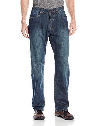prAna Men's Rogan Jeans, Antique Stone Wash Size 36