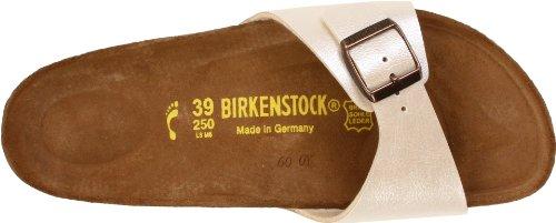 Birkenstock Madrid Birko-Flor - Sandalias de pala unisex Antique