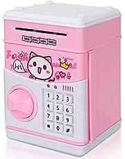 Geld Bank voor kinderen, elektronische spaarvarken ATM Auto Scroll geldbesparende bank met wachtwoord, cadeau voor meisjes jongens kinderen