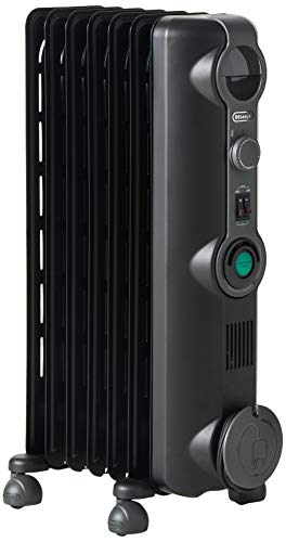 DeLonghi Comfort Temp Full Room Radiant Heater, Black