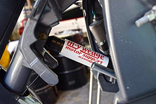 (M-Y Wedge Outboard Transom Saver Trailering Support Motor Toter Universal Fit )