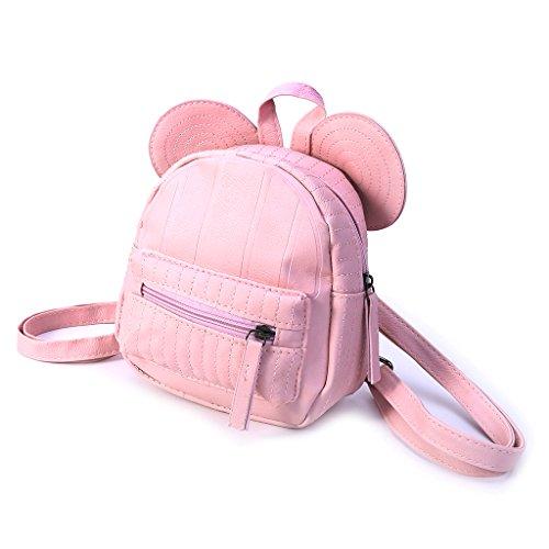 Voyage à Dos Décontracté Sac SLYlive d'école Petit d'épaule Sac de Mini Dos rose Sac à Filles Femmes zqOIR