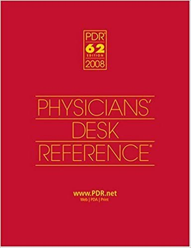 Physicians Desk Reference 2008: Hospital/Library Version (Physiciansu0027 Desk  Reference (PDR)) 62nd Edition