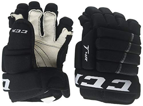 CCM Tacks 4Roll Hg4iii Youth Hockey Gloves Black 9