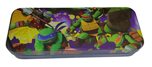 Licensed Character Tin Pencil Case (Ninja Turtle 2)