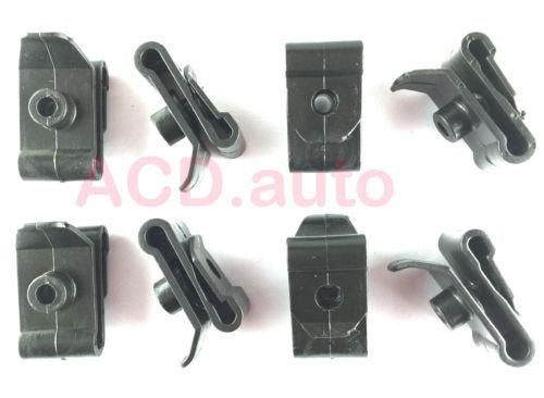 Prizm Hood Replacement (30xNylon U Nut #10 Screw Hood Fender Wheel Housing Clips For GM Geo Prizm Toyota Mazda)