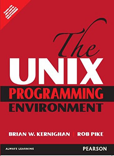The Unix Programming Environment (1st Edition) by Pearson India