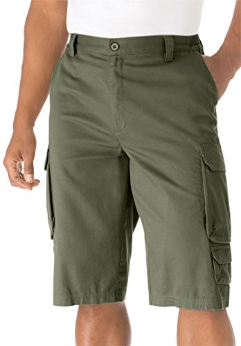 And Tall Shorts Pockets Slant Big (KingSize Men's Big & Tall 14