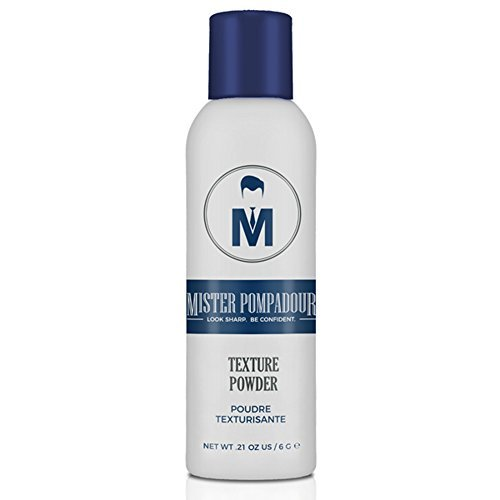 Mister Pompadour Texture Powder | Dry Volumizing Powder for Men and Women | Instant Volume for Fine, Straight, Thin or Thinning Hair | Natural Ingredients | Invisible and No-Scent Hold