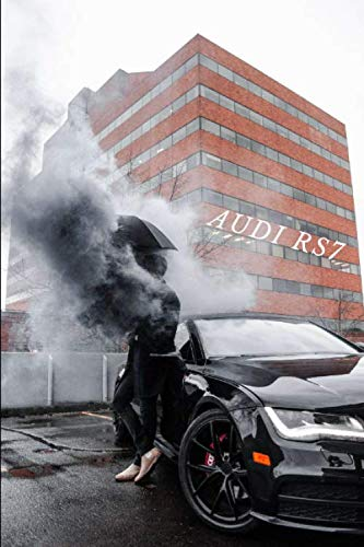 Audi RS 7: Car Notebook for Drawing and Writing, Journal, Diary (110 Page, Blank, 6 x 9 inch, 15.24 x 22.86 cm) (Cars)