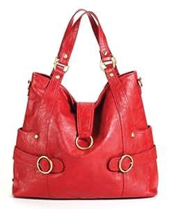 timi & leslie TL-214-01RO Hannah Diaper Bag (Rouge)