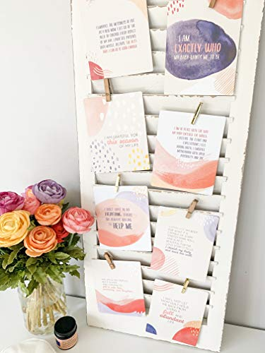 A warm and vibrant deck of uplifting postpartum affirmation cards